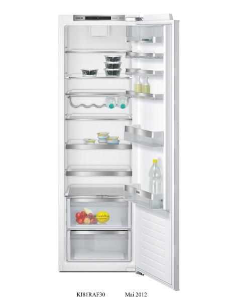 Photo Réfrigérateur Siemens 1 porte Intégrable KI81RAD30