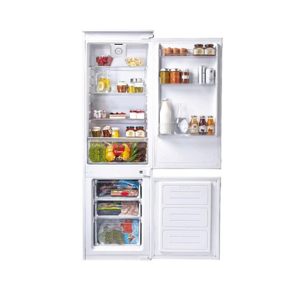 Photo Réfrigérateur Combiné Intégrable Candy CCS250A/1