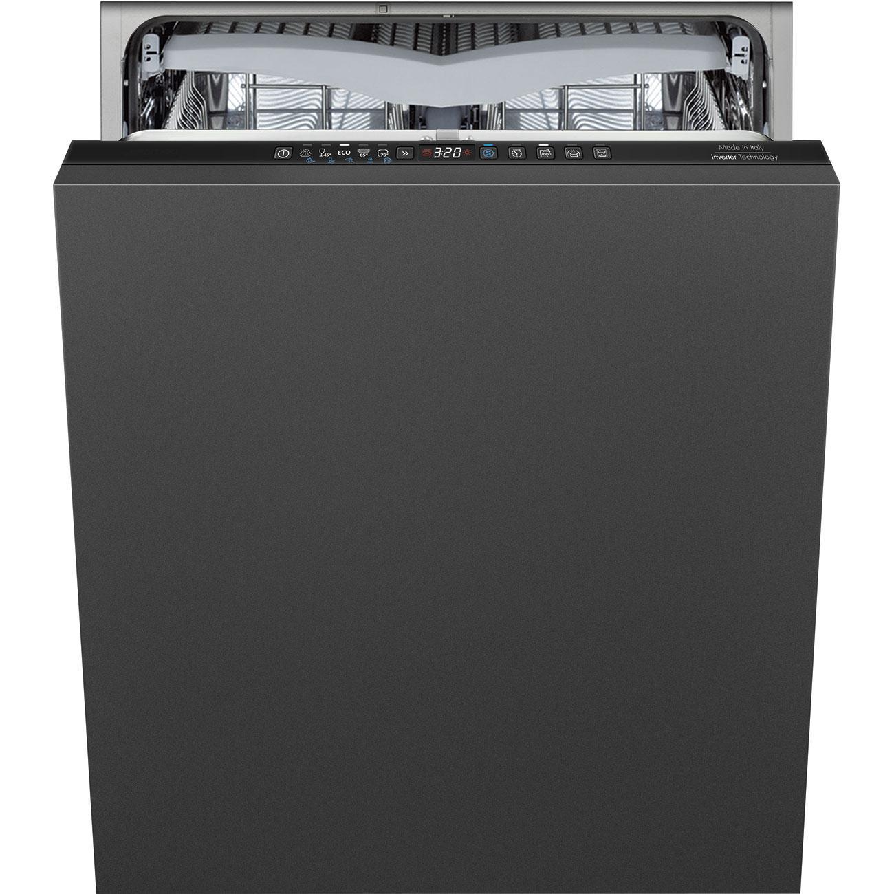 Photo Lave vaisselle intégrable Smeg STL332CLFR