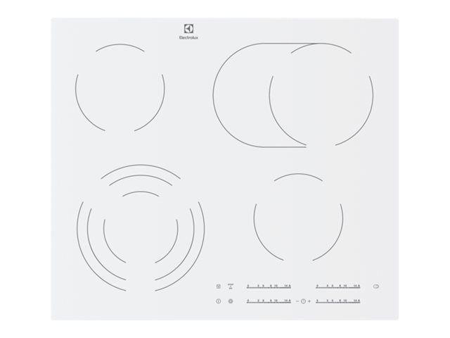Photo Plaque  Vitrocéramique Electrolux EHF6547IW1