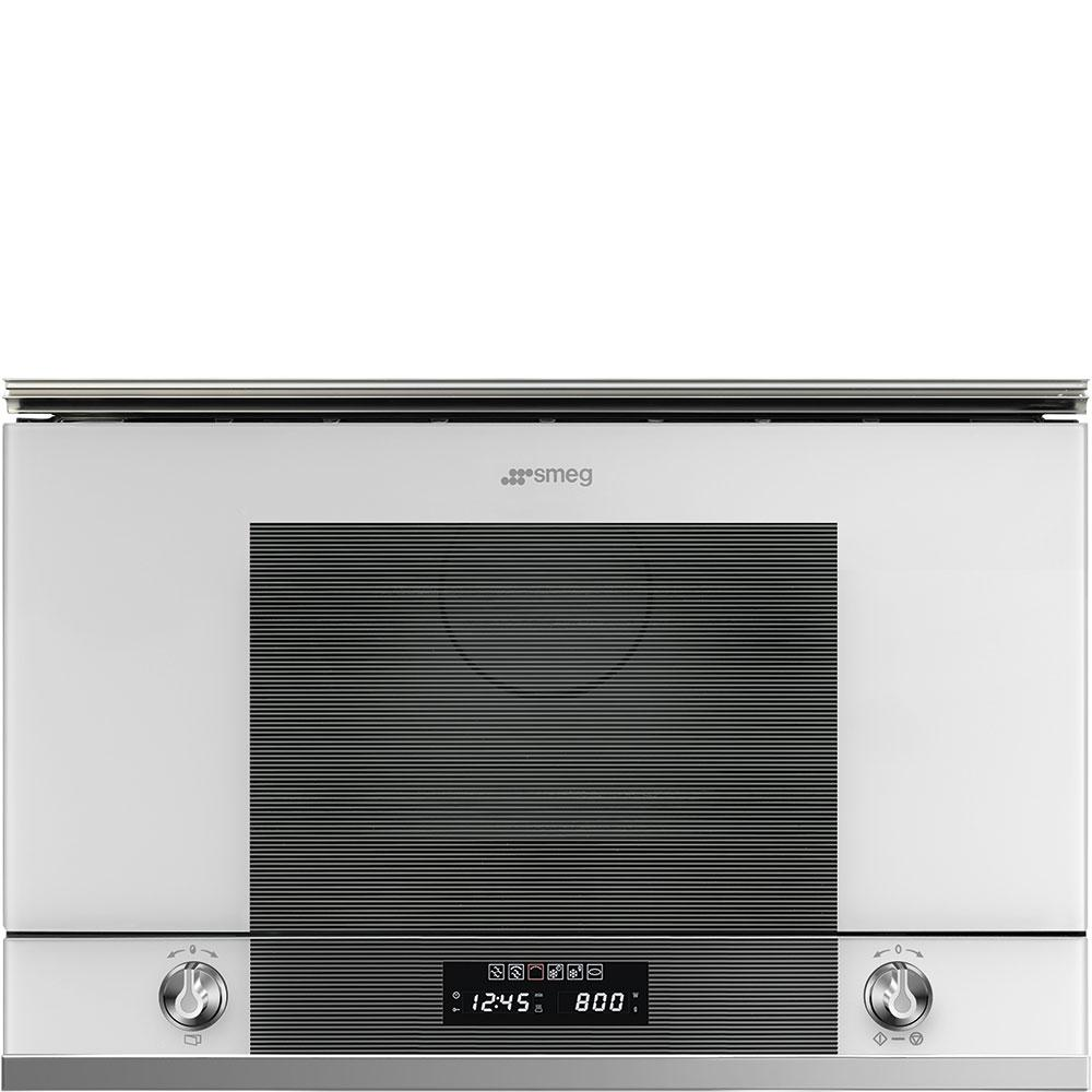 Photo Micro-Ondes Gril Encastrable Smeg MP122B11