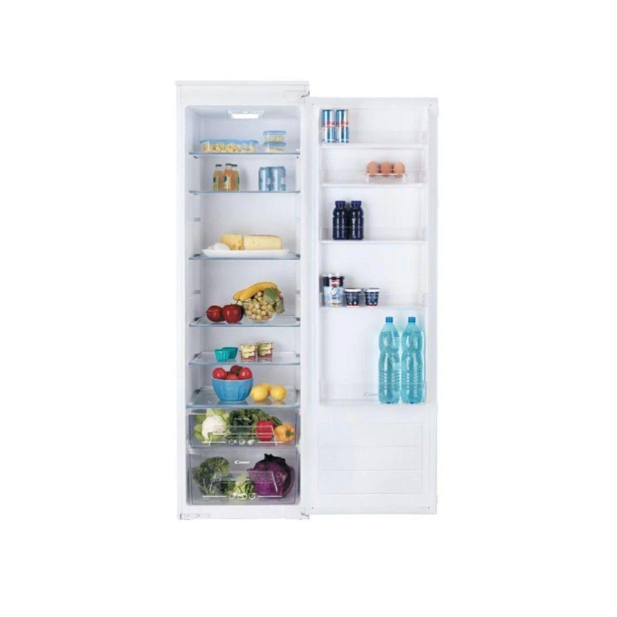Photo Réfrigérateur 1 Porte Intégrable Candy CFLO3550E/N