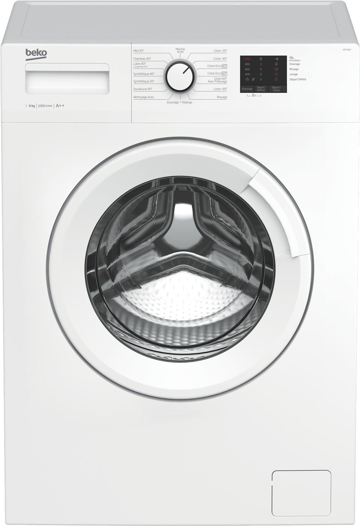 Photo Lave-Linge Frontal Beko WCA160
