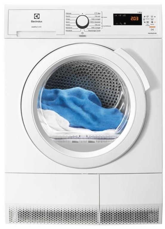 Photo Sèche-Linge Condensation Electrolux EW6C4853SC