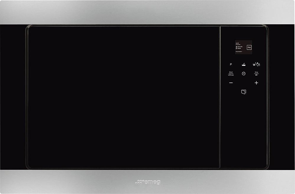 Photo Micro-ondes + Gril Encastrable Smeg FMI320X2