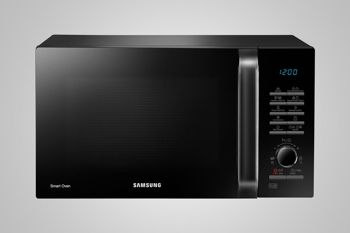 Photo Micro-Ondes Samsung Combiné MC28H5125AK