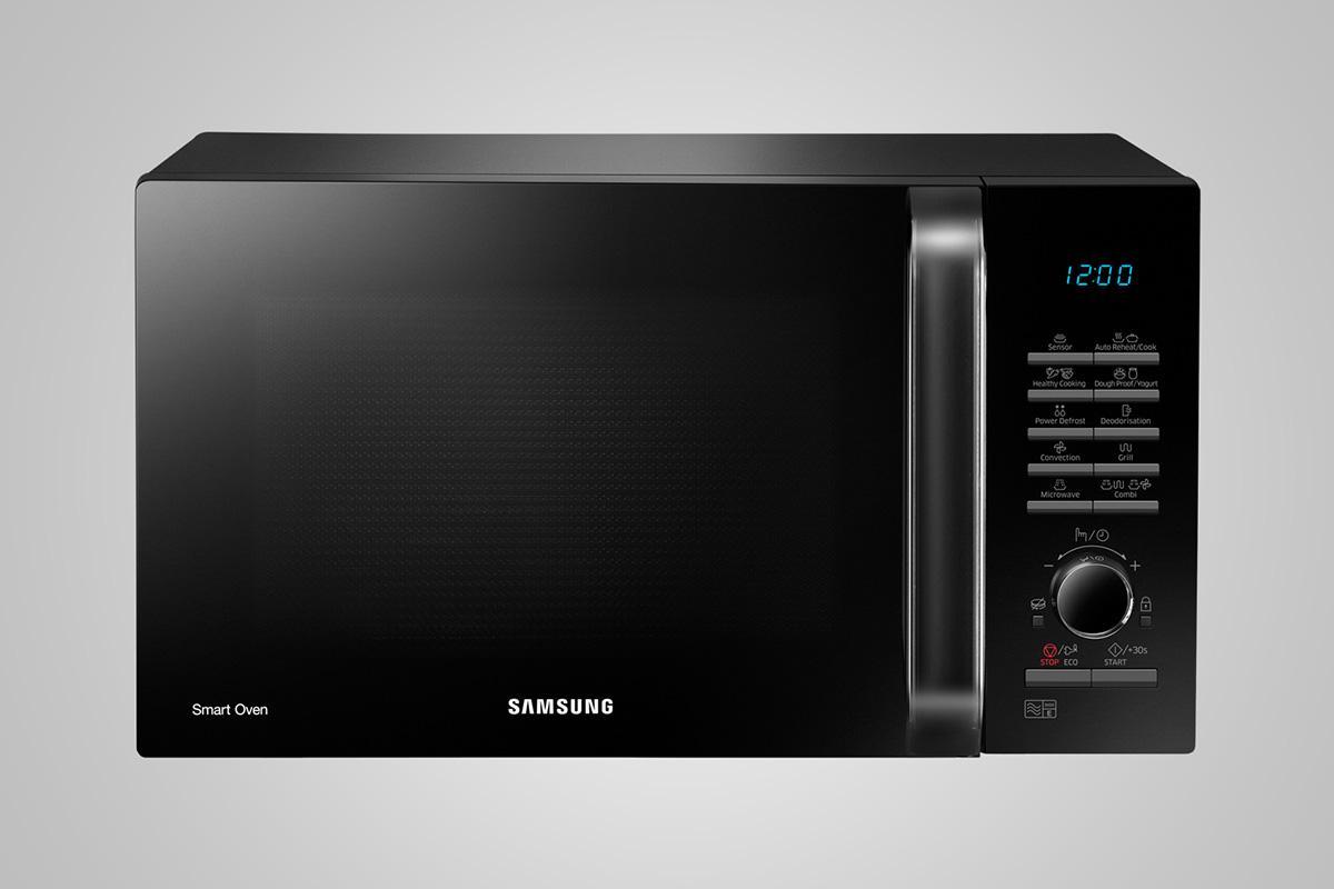 Photo Micro-Ondes Samsung Combiné MC28H5125AK