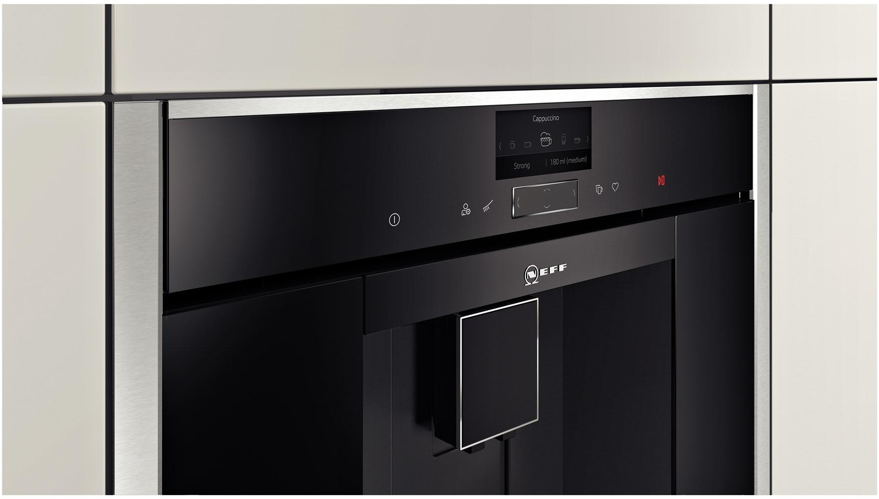 machine caf encastrable neff c17ks61n0 electromenager grossiste. Black Bedroom Furniture Sets. Home Design Ideas
