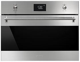 Photo Four Smeg Combiné Micro-Ondes SF4390MCX