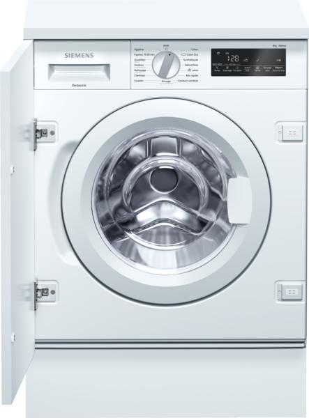 Photo Lave linge Intégrable Siemens WI14W540FF