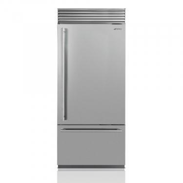 Photo Réfrigérateur Combiné  Smeg RF396RSIX