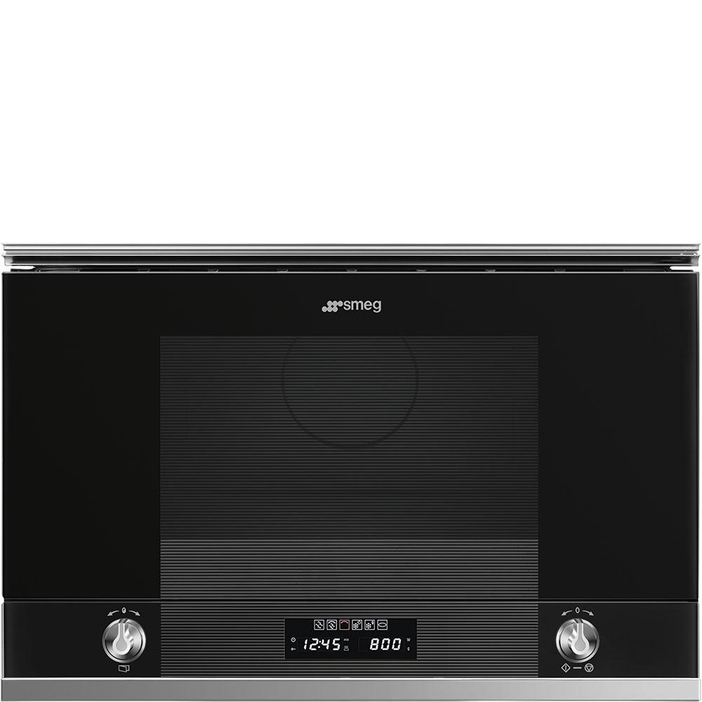 Photo Micro-Ondes Gril Encastrable Smeg MP122N11
