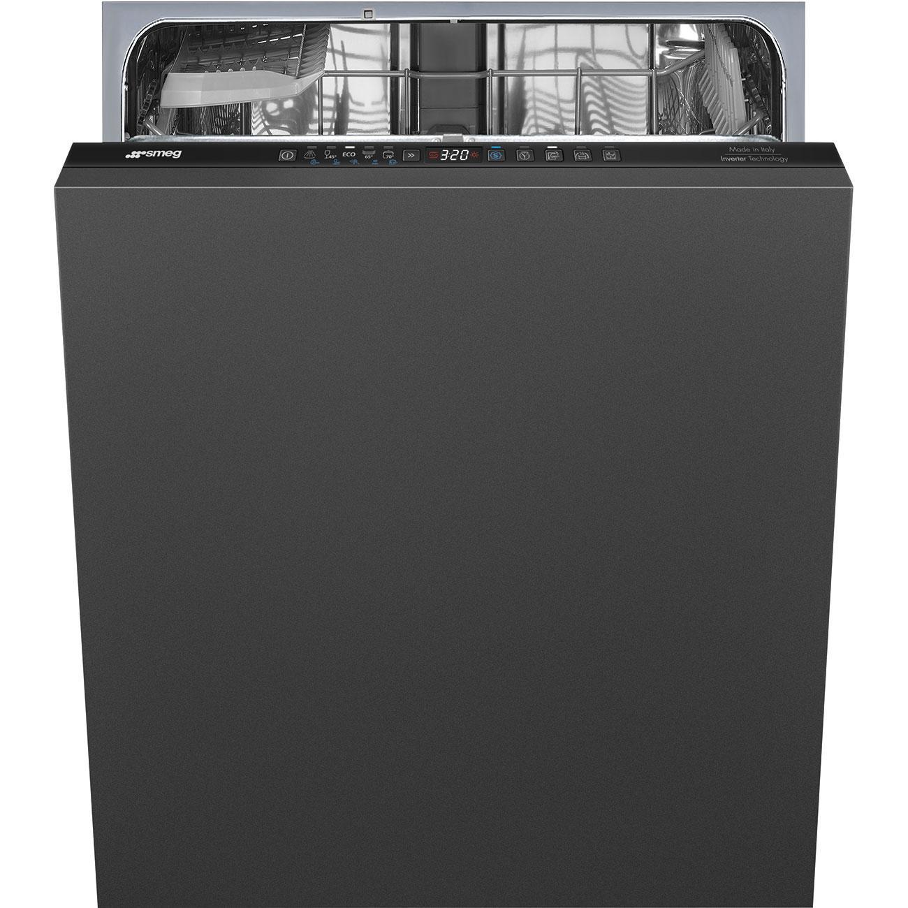 Photo Lave vaisselle intégrable Smeg STL252CLFR