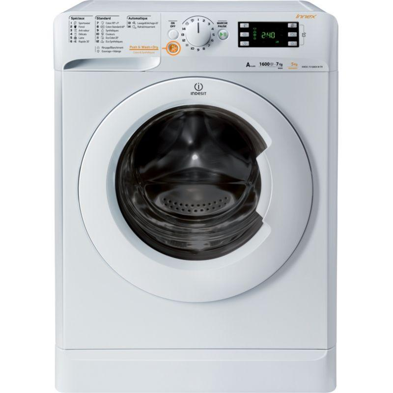 Photo Lave linge Séchant Indesit XWDE751680XWFR