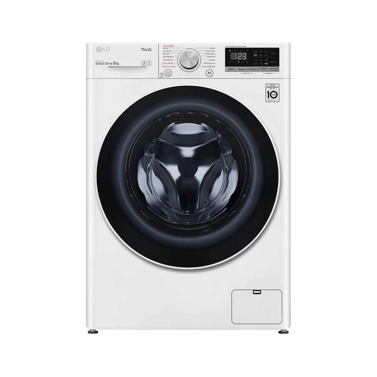 Photo Lave Linge Frontal LG  F84N40WHS