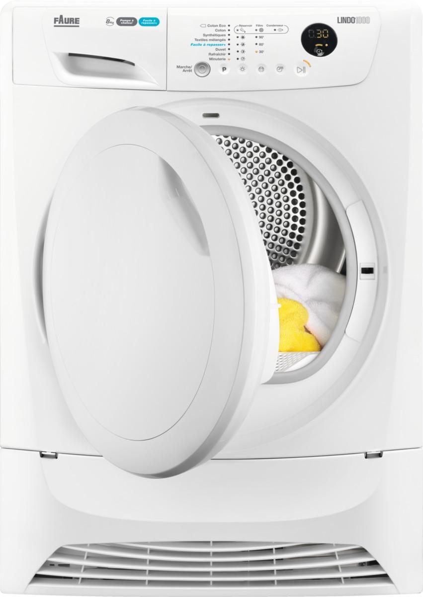 Photo Sèche-linge à Condensation Pompe à Chaleur Electrolux FDH8334PZ