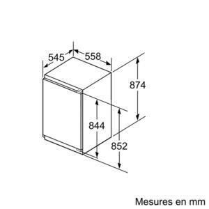 Congélateur Intégrable Siemens GI21VAD30