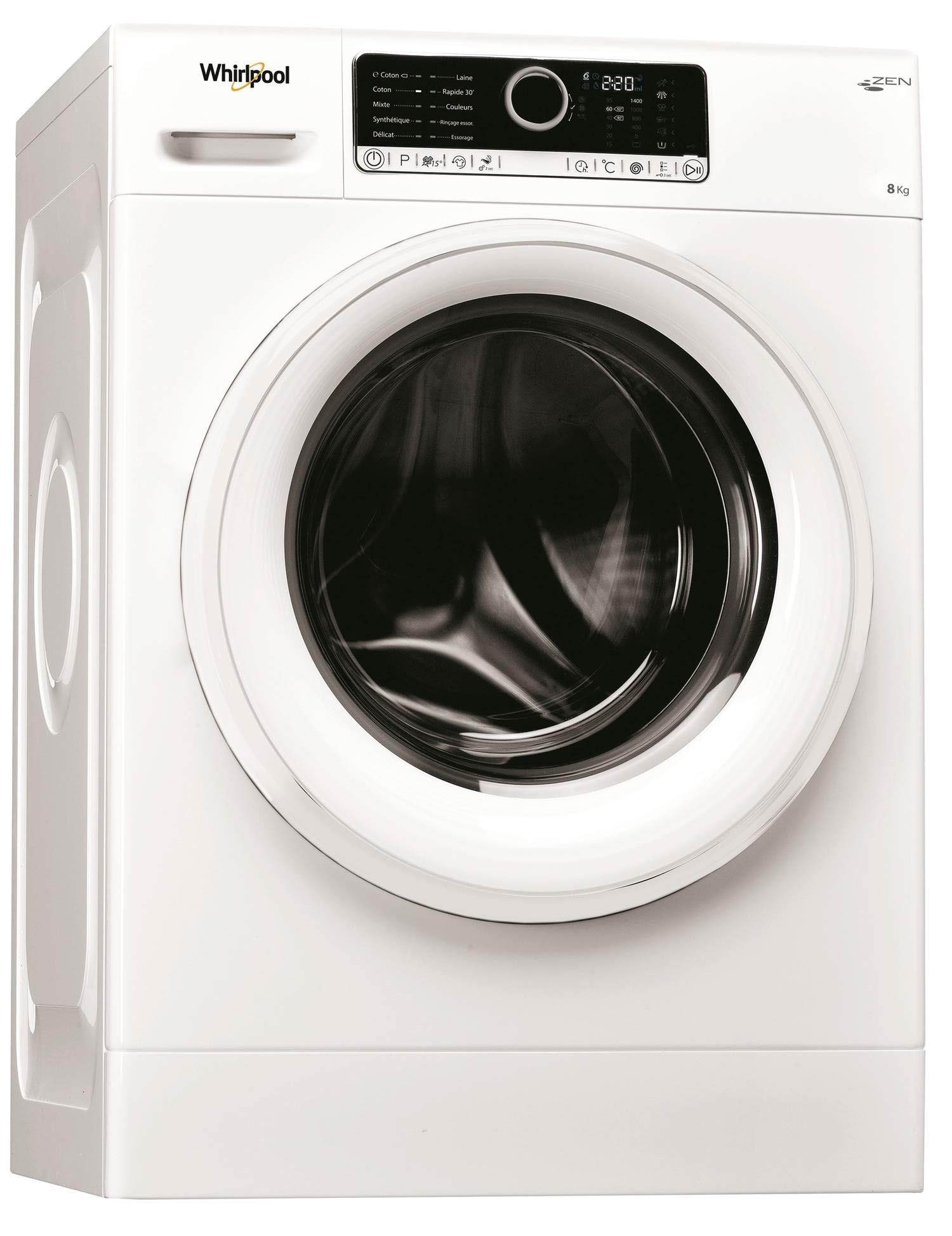Photo Lave linge Frontal Whirlpool FSCR80499