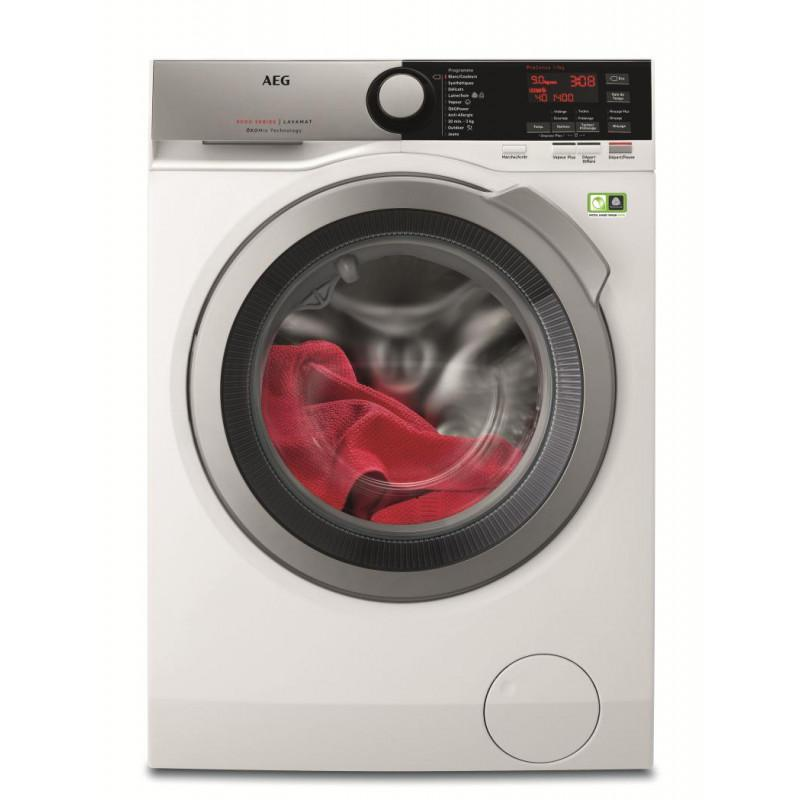 Photo Lave linge Posable Aeg L8FER942C