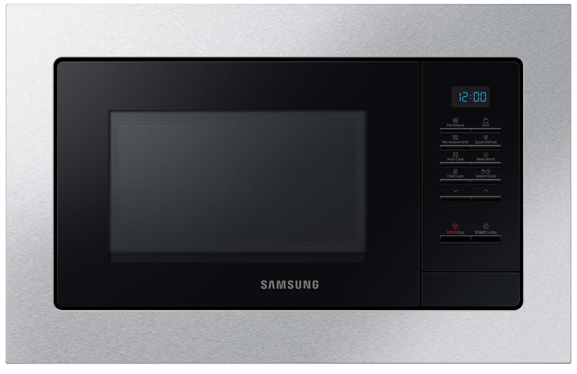 Photo Micro-ondes Gril Encastrable Samsung MG20A7013CT