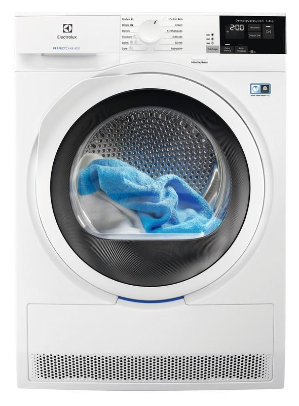 Photo Sèche-linge Condensation Electrolux EW8H4822RA